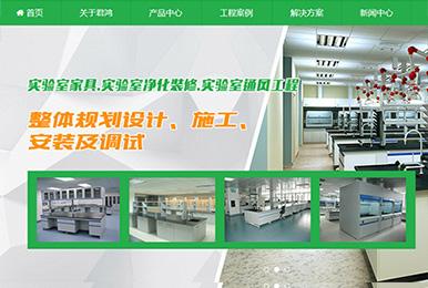 广州君鸿净化科技有限公司(响应式营销型)